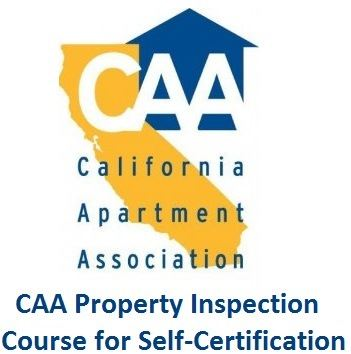 CAA Property Inspection Course for Self-Certification