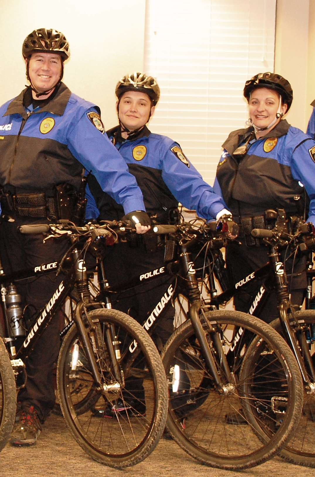 Photo of Bicycle Patrol Officers with Bikes