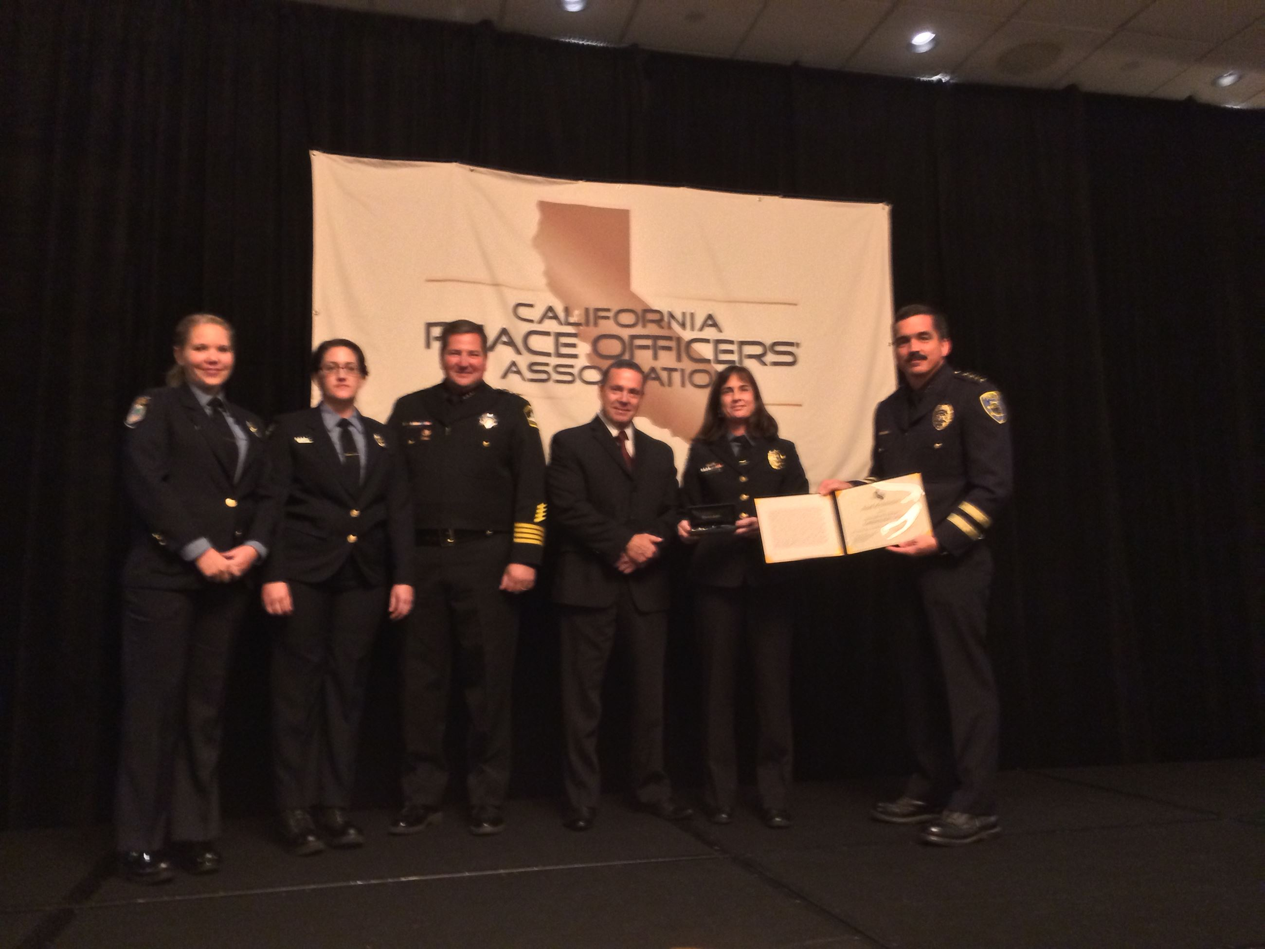 2013 CPOA Award Dispatch Team