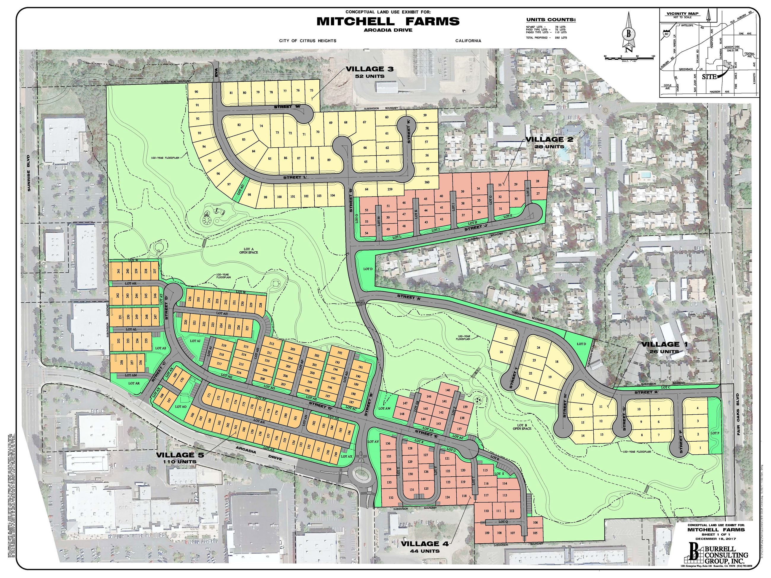 Mitchell Farms Color Site Plan