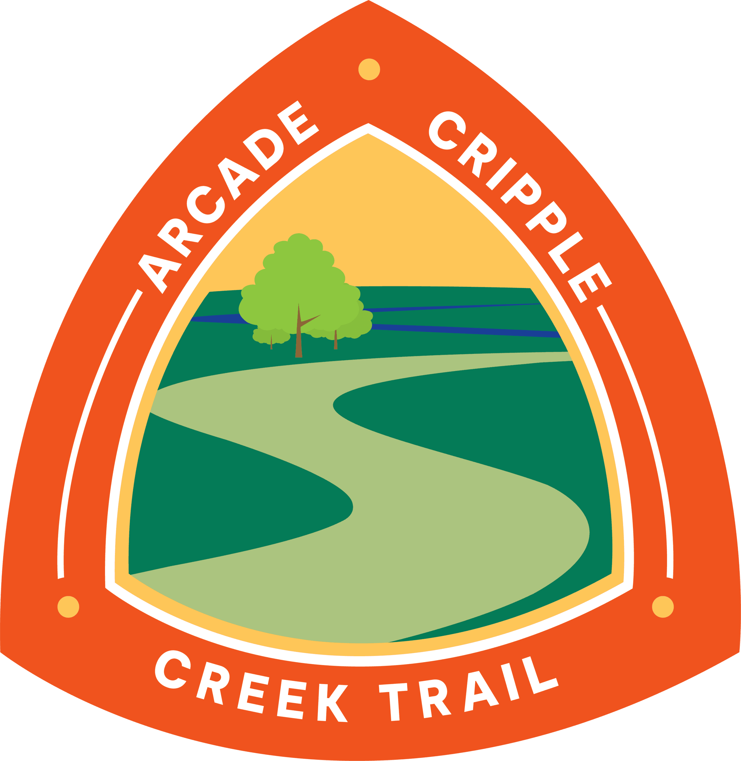 Arcade-Cripple Creek Trail Signs 04202021